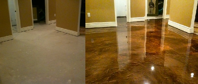 Before&After EpoxyCoating