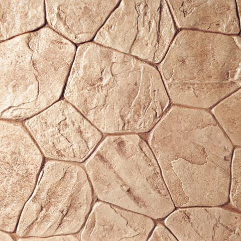 Stamped Concrete - Random Stone
