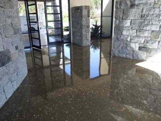 Kelowna concrete polishing durability style for Cleaning polished concrete